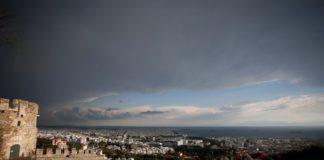Άστατος ο καιρός με βροχές και χαλάζι την Τετάρτη