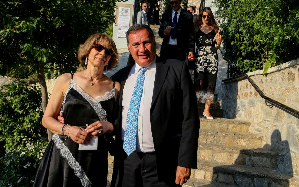 Παντρεύτηκαν Βασίλης Κικίλιας και Τζένη Μπαλατσινού (pics)