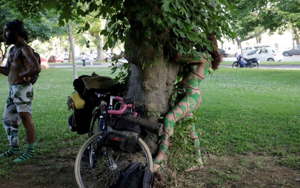 Η 12η Διεθνής Γυμνή Ποδηλατοδρομία Θεσσαλονίκης