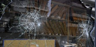 Η στιγμή της επίθεσης σε τράπεζα στη Συγγρού (vd)