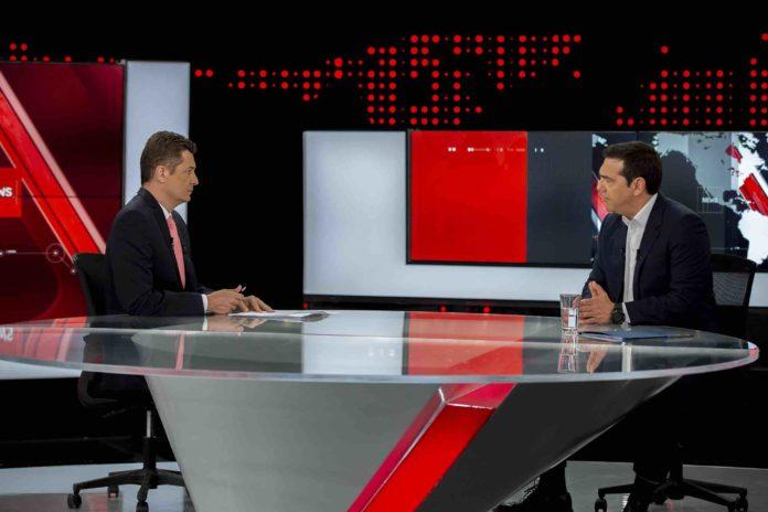 Πρωτιά για το δελτίο ειδήσεων του Alpha με τη συνέντευξη Τσίπρα!