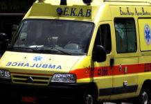 Βόλος: Σοβαρό τροχαίο με δύο τραυματίες