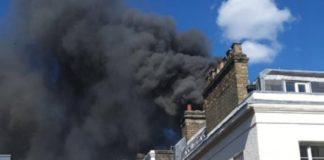 Πυρκαγιά ξέσπασε σε κτήριο στο Λονδίνο