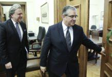 Ενημερώνει τον Δ. Κουτσούμπα για τα ελληνοτουρκικά ο Γ. Κατρούγκαλος