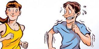 Γιατί οι άνδρες επιταχύνουν όταν τρέχουν δίπλα σε γυναίκες;