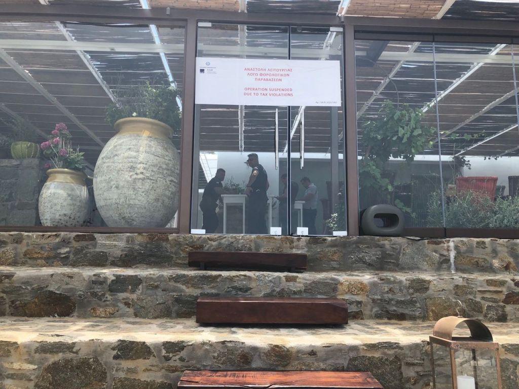 Προσωρινό λουκέτο σε εστιατόριο διάσημου σεφ στη Μύκονο