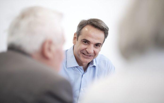 Κ. Μητσοτάκης: Συνάντηση με τον Adel al-Jubeir