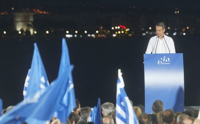 Στο πόδι η ΝΔ Θεσσαλονίκης για την επίσκεψη Μητσοτάκη