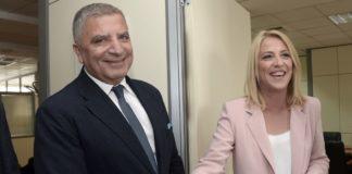 Σε καλό κλίμα η συνάντηση Πατούλη - Δούρου: «Θα συνεργαστούμε»