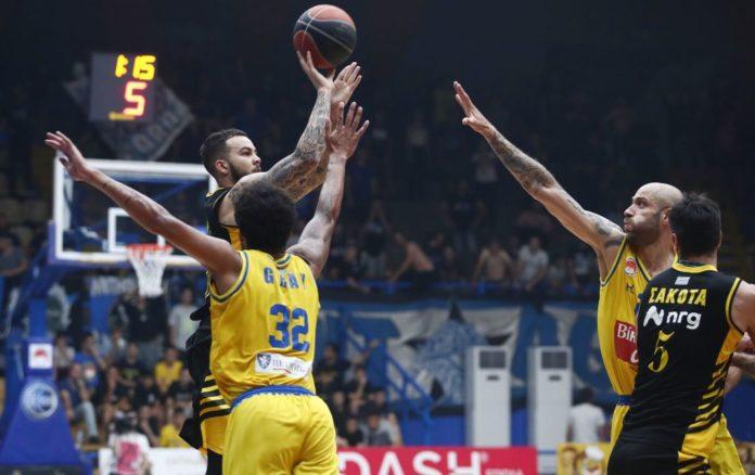 Basket League: «Άλωσε» το Περιστέρι η ΑΕΚ