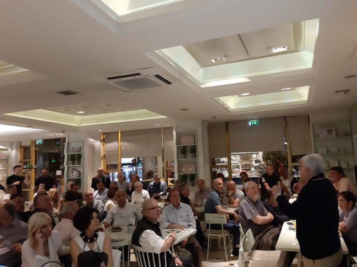 Το πρόγραμμα συναντήσεων και εκδηλώσεων του Στράτου Σιμόπουλου