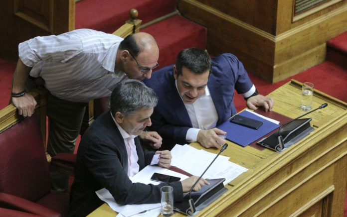 Τσακαλώτος: «Δεν τίθεται θέμα ηγεσίας στον ΣΥΡΙΖΑ σε περίπτωση ήττας»