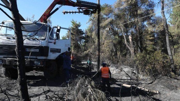 Χαλκιδική: Αγώνας δρόμου για την αποκατάσταση