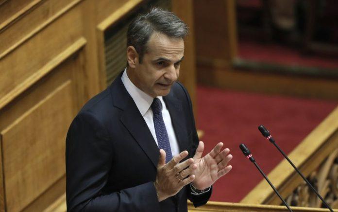 Η ομιλία του Κ. Μητσοτάκη στη Βουλή (live)