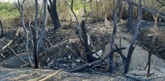 Φωτιά κοντά στο σταθμό ΚΤΕΛ «Μακεδονία» (vds)