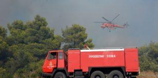 Πολύ υψηλός κίνδυνος πυρκαγιάς τη Δευτέρα, σε νησιά Ανατ. Αιγαίου, Δωδεκάνησα, Λασίθι