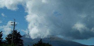 Ηφαίστειο που απέχει 140 χλμ από το Τόκιο εισήλθε σε φάση έκρηξης