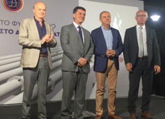 Ο Θ. Καράογλου εγκαινίασε τις εργασίες εγκατάστασης αερίου στη Δεσκάτη Γρεβενών