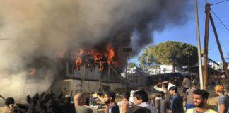 Πυροσβέστες: «Ποτέ ξανά στη Μόρια χωρίς αστυνομία»