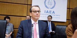 Ο επικεφαλής της Διεθνούς Υπηρεσίας Ατομικής Ενέργειας στην Τεχεράνη