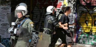 Εξάρχεια: Στον εισαγγελέα σήμερα οι 4 συλληφθέντες