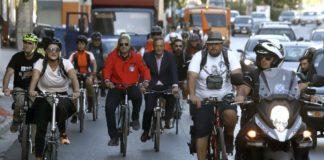 Στην ποδηλατοδρομία ο Γιώργος Πατούλης (pic)