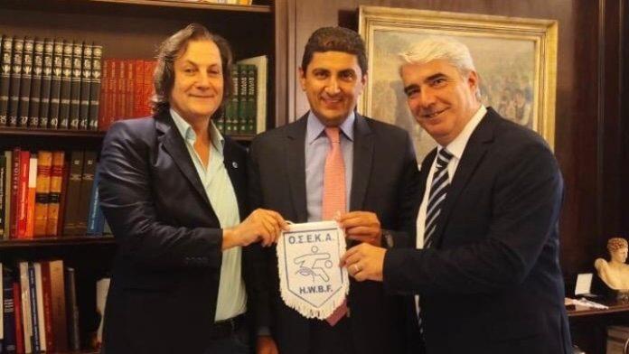 Αμέριστη στήριξη στην ΟΣΕΚΑ για την διεκδίκηση του ευρωπαϊκού πρωταθλήματος μπάσκετ με Αμαξίδιο