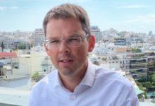 «Ας εργαστούμε όλοι μαζί για μια Πράσινη, Ανταγωνιστική Ελλάδα και Ευρώπη με Κοινωνική Συνοχή», δήλωσε ο Νορβηγός πρέσβης