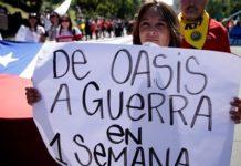 Χιλή: Ένα 4χρονο αγοράκι σκοτώθηκε στις βίαιες ταραχές
