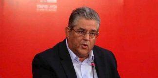 Δ. Κουτσούμπας στο προεδρείο της ΟΤΟΕ: «Το ΚΚΕ θα στηρίξει τα δίκαια αιτήματα των τραπεζοϋπαλλήλων»