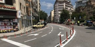 Διευκρινίσεις για τα πασαλάκια που έχουν τοποθετηθεί σε κεντρικούς δρόμους της πόλης