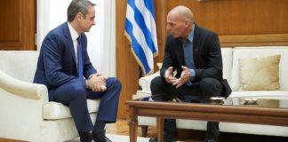 Γ. Βαρουφάκης: Συμφωνήσαμε με τον πρωθυπουργό στην ανάγκη να διευκολυνθεί η ψήφος των αποδήμων Ελλήνων