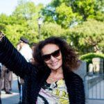 """Η Νταϊάν φον Φιούρστενμπεργκ """"νονά"""" του Αγάλματος της Ελευθερίας"""