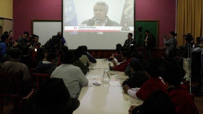 Ισημερινός: Kυβέρνηση και κίνημα αυτοχθόνων κατέληξαν σε συμφωνία για να τερματιστεί η κοινωνική κρίση