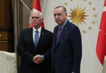 Κατάπαυση του πυρός στη Συρία: Η συμφωνία, η συνάντηση Πενς-Ερντογάν και η απαίτηση του Τούρκου Προέδρου