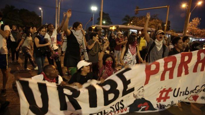 Κολομβία: Στους δρόμους οι φοιτητές, ζητούν περισσότερα χρήματα για τη δημόσια παιδεία