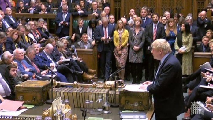 Μπ. Τζόνσον στη Βουλή των Κοινοτήτων: Η συμφωνία για το Brexit επιτρέπει στην ΕΕ και στο Λονδίνο να πάνε μπροστά