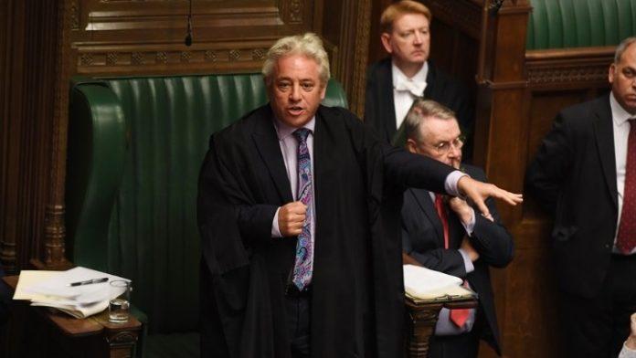 Ο  «speaker» Μπέρκοου εγκαταλείπει την θέση του έπειτα από δέκα χρόνια και αναρίθμητα βροντερά «Order!»