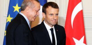 Ο Ερντογάν εξήγησε στον Μακρόν τους στόχους της στρατιωτικής επιχείρησης στη ΒΑ Συρία