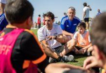 Οι FIFA Legends με μαθητές στα βουνά του Λιβάνου