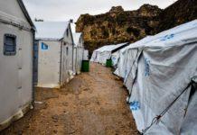 Πυρκαγιά στο Κέντρο Υποδοχής και Ταυτοποίησης της Σάμου, κατόπιν συγκρούσεων Αφγανών με Σύρους