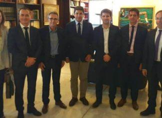 Συνάντηση Αυγενάκη με αντιπροσωπεία Γάλλων για τους Ολυμπιακούς Αγώνες στο Παρίσι