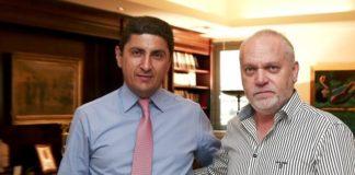Συνάντηση Αυγενάκη με τον πρόεδρο του ερασιτέχνη Ολυμπιακού