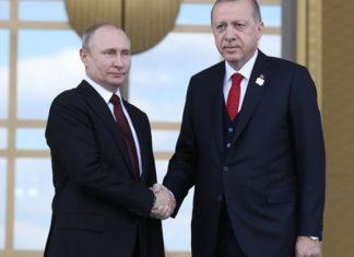 Συνάντηση Ερντογάν και Πούτιν στις 22 Οκτωβρίου στο Σότσι