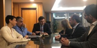 Συνάντηση Κυρ. Πιερρακάκη με τη CEO Europe Cluster του Ομίλου Vodafone, Serpil Timuray