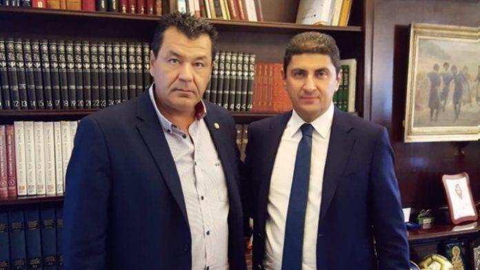 Συνάντηση Λ. Αυγενάκη με τον δήμαρχο Φυλής για το κλειστό των Άνω Λιοσίων
