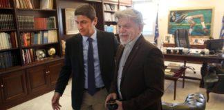 Συνάντηση Λ. Αυγενάκη με τον δήμαρχο Νέας Φιλαδέλφειας (vid)