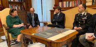 Συνάντηση της Λ. Μενδώνη με τον υπουργό Πολιτισμού και Τουρισμού της Ιταλίας