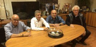 Συνάντηση του προεδρείου της ΚΟΕ με τον περιφερειάρχη Θεσσαλίας Κ. Αγοραστό, ενόψει των διοργανώσεων του καλοκαιριού