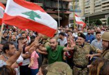 Το κίνημα διαμαρτυρίας παραλύει για έβδομη ημέρα τον Λίβανο